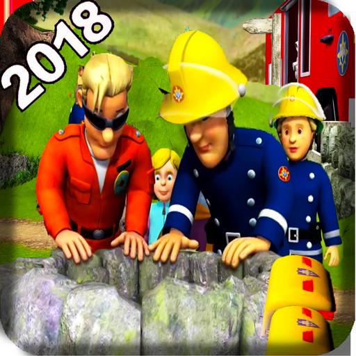 Fireman Rescue & Sam Firefighter Truck