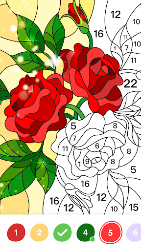 No.Paint - Relaxing Coloring games apkdebit screenshots 3