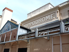 Photo: Ah, of course, an old theater