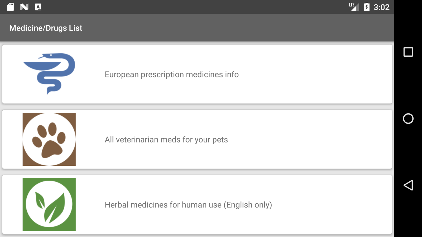 Medicine list app. Medical dictionary. Drugs ABC.- screenshot