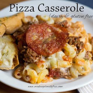 Pizza Casserole {Dairy & Gluten Free}