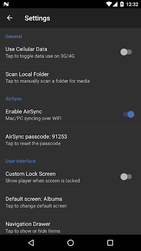 doubleTwist Music & Podcast Player with Sync 3.2.9 screenshots 7