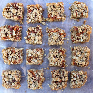 Apple Bacon Oat Bars.