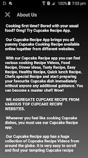 Cupcake Recipe - náhled