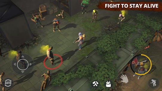 Days After – zombie survival simulator MOD (Free Craft/Mod Menu) 3
