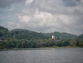 Photo: Widać zamek Tropsztyn (z wody)