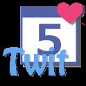 TwitCal Pro Tweet calendar icon