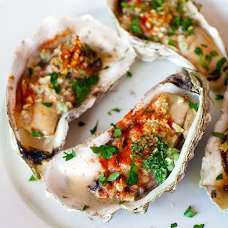 Grilled (or Baked) Oysters