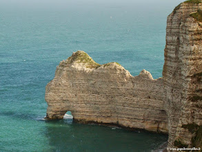 Photo: #006-Etretat. La Porte d'Amont.