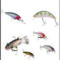 fishing lure model icon