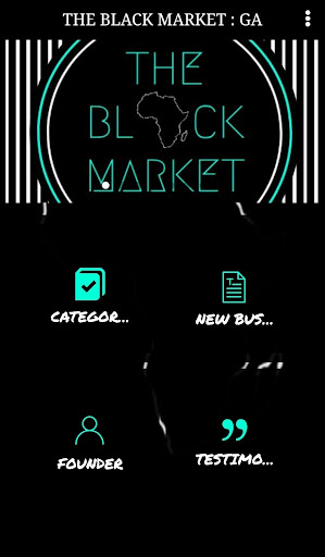 Screenshot for THE BLACK MARKET : GA in United States Play Store