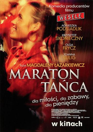 Przód ulotki filmu 'Maraton Tańca'
