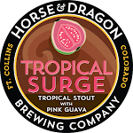 Horse & Dragon Tropical Surge Tropical Stout with Pink Guava