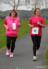 Photo: 1st ladies double duo to cross the line