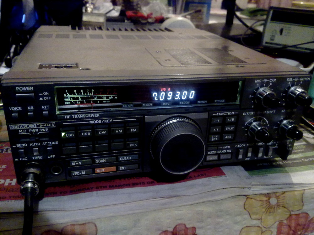 Kenwood Ts 450 Low Audio