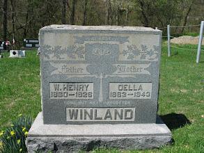 Photo: Winland, W. Henry and Oella