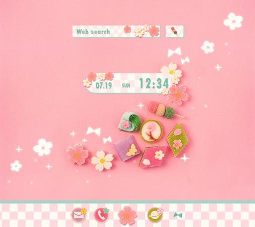 はんなり和菓子-無料着せ替えアプリ