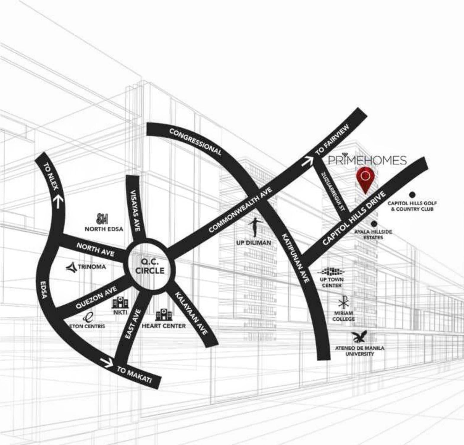 Laselva, Capitol Hills Drive, Quezon City location map