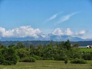 Photo: Nad Tatrami trochę chmur się wypiętrzyło