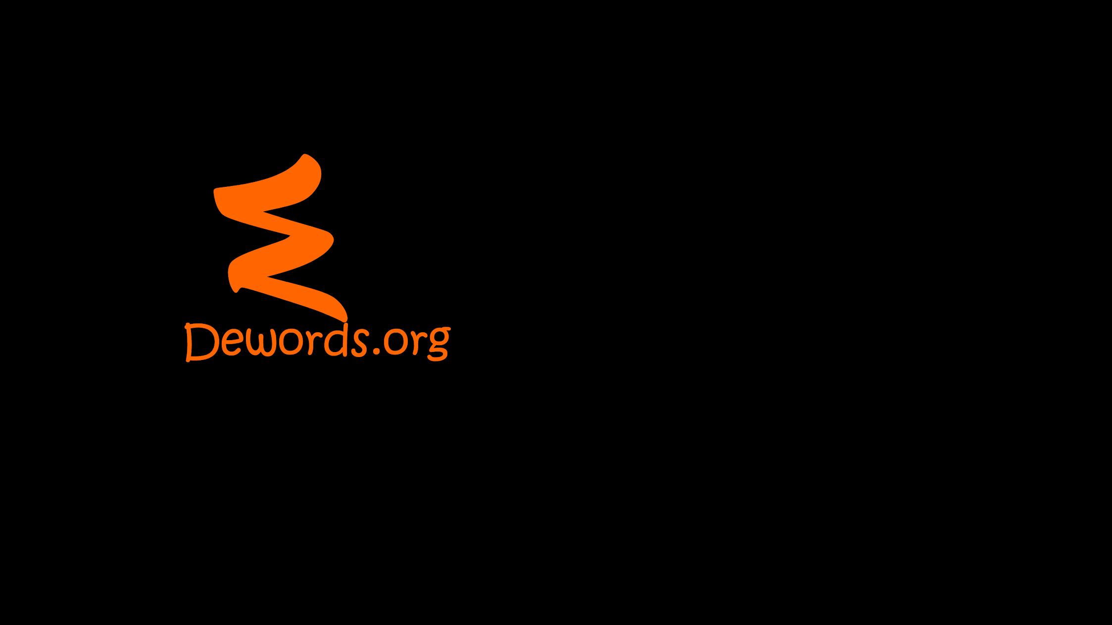 DDewords.org