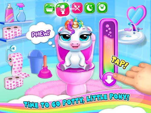 My Baby Unicorn 2 - New Virtual Pony Pet apkdebit screenshots 10