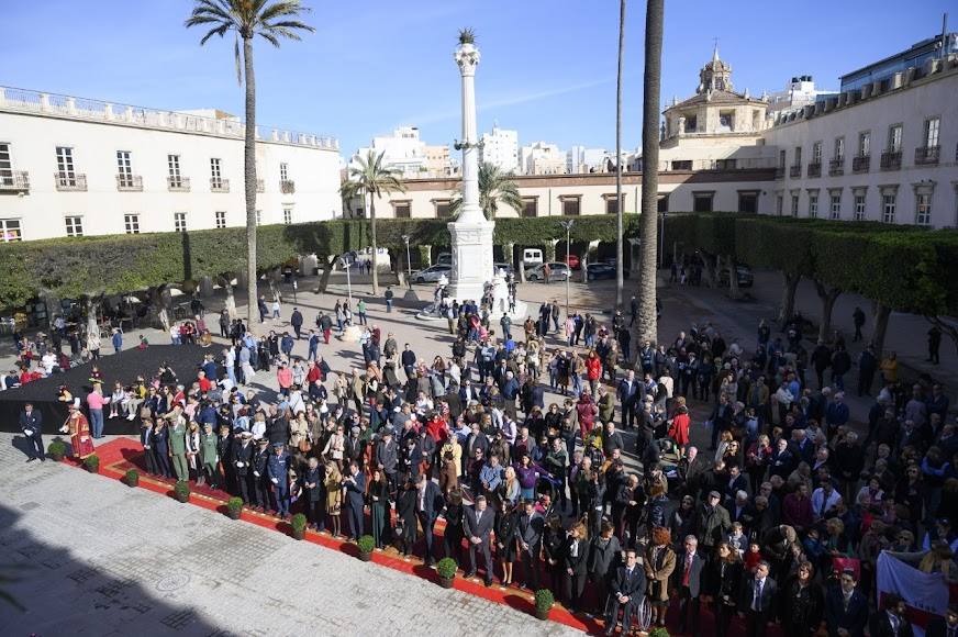 Los actos se celebraron en la Plaza Vieja.