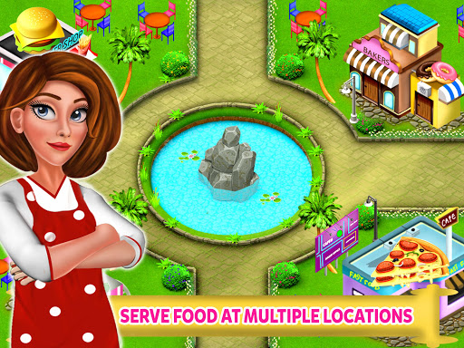 High School Cafe Cashier Girl - Kids Game  screenshots EasyGameCheats.pro 2