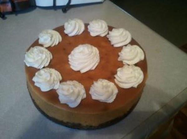 Pumpkin Cheesecake With Cinnamon Whipped Cream Recipe
