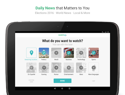 Watchup: Video News Daily Screenshot 21