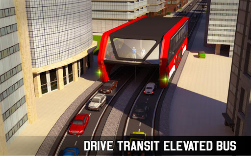 Elevated Bus Simulator: Futuristic City Bus Games 2.2 screenshots 13