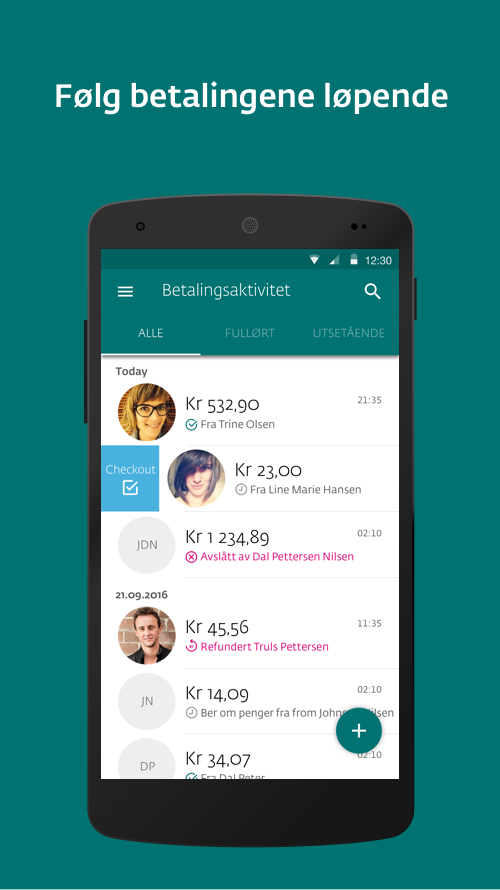 Vipps Business- screenshot