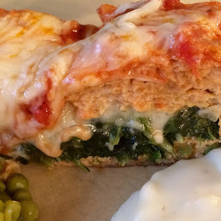 Stuffed Chicken Meatloaf
