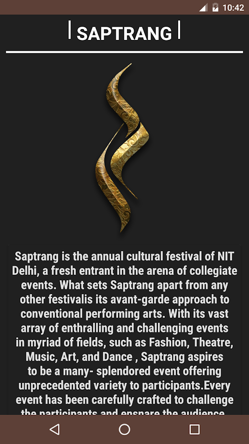 Saptrang2k17- screenshot