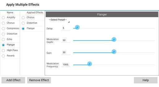 MixPad Multitrack Mixer Free screenshot 3