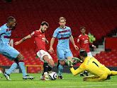 Manchester United bat West Ham et s'accroche à la seconde place