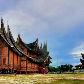 Pagaruyung palace Batusangkar by Syafriadi S Yatim - Buildings & Architecture Statues & Monuments