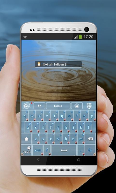 Air Balloon GO Keyboard - screenshot