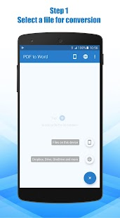 PDF zu Word Converter Screenshot