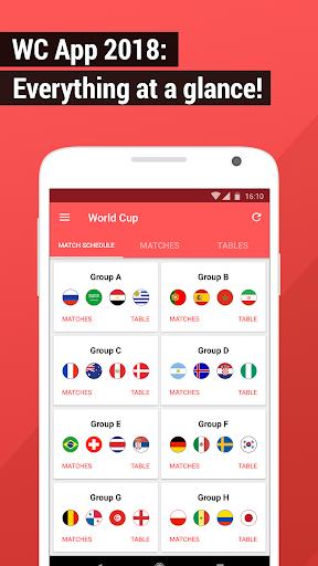 World Cup App 2018 - Live Scores & Fixtures  1