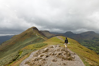 Photo: The Catbells summit in the distance