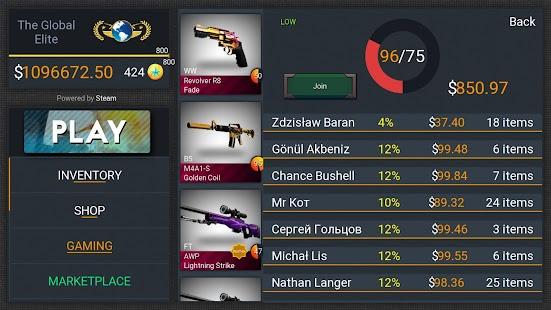 Case Simulator Hero for CS:GO - náhled