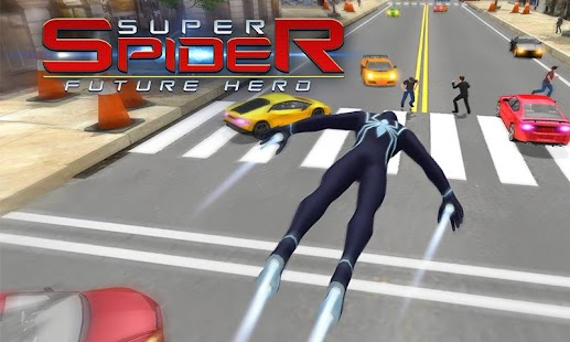 Super Spider Hero Fighting Incredible Crime Battle - náhled