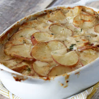 Savory Scalloped Potatoes.
