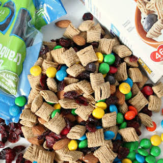 Trail Mix with Oatmeal Squares Cereal.