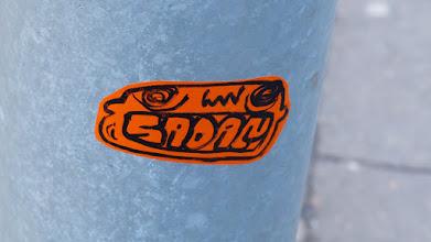 Photo: Sticker; SADAM