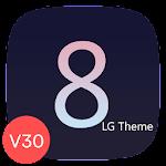G8 Black Theme for LG V30 G6 V20 G5 Oreo 2.2