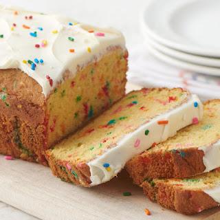 Birthday Cake-Mix Bread.