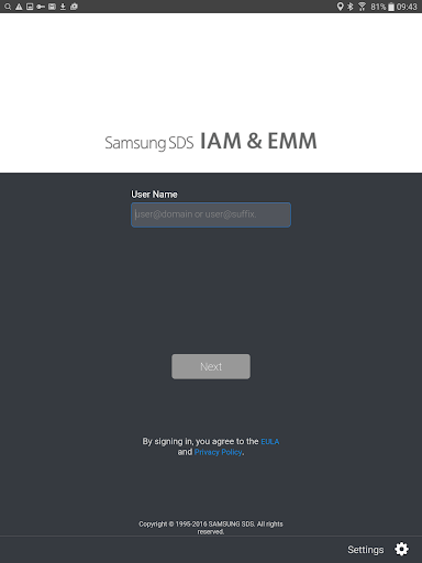 Samsung SDS IAM&EMM  screenshots 5
