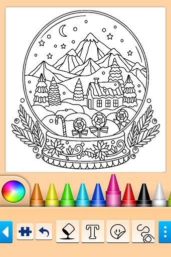 Christmas Coloring 10.4.4 screenshots 1