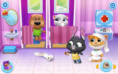 My Talking Tom Friends Mod Apk (Unlimited Money) 1.2.1.3 9